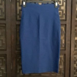 Dresses & Skirts - Blue Pencil Skirt